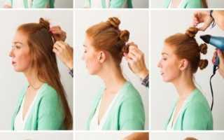 Легкие волны на средние. Как сделать волны на волосах — шесть способов