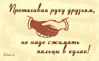 Афоризмы о дружбе. Фразы о дружбе