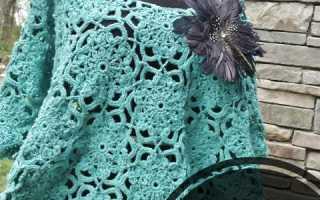 Пончо для 5 летней девочки схема вязания. Вязание спицами пончо, подборка