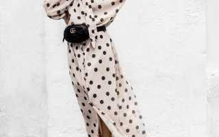 Платье красное в белый горох. Платье в горошек: фото и советы как носить