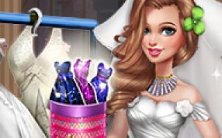 Игры одевать невесту на свадьбу. Игры для девочек свадебные одевалки