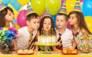 Как развлечь ребенка в день рождения. Как развлечь ребенка на дне рождения