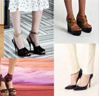 Основные виды женской модной обуви. Виды обуви