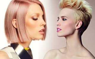 Стрижка и цвет. Как правильно подобрать стрижку и цвет волос по форме лица