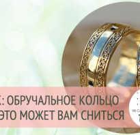 К чему снится обручальные кольца женщине