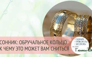 Покупать обручальные кольца. К чему снится обручальное кольцо