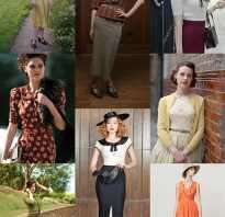 Женские модели одежды 30 х годов. Платья в стиле Чикаго (30-х)