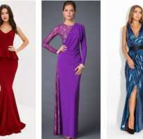 Модные и изящные платья для торжества для женщин