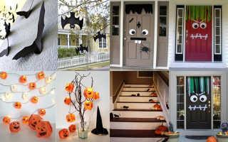 Декор на хэллоуин своими руками: идеи украшения
