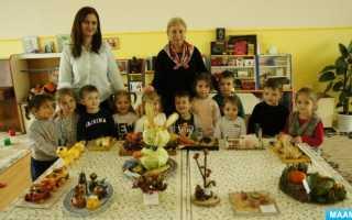 Поделки в детский сад осень из фотографий. Осенние поделки в садик