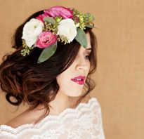 Заколки-цветы для волос. В тренде: цветы в прическе невесты