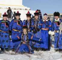 Бурятский народный костюм. Национальная одежда бурят