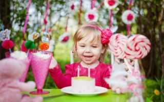День рождения 2 года дома. Как организовать праздник двухлетнему имениннику