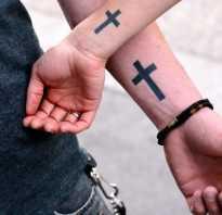 Что означает крест на ноге. Что означает тату крест