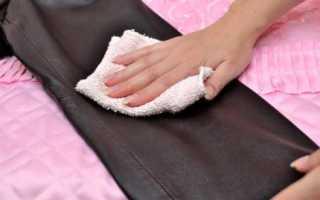 Как почистить кожу от загрязнения? Чистка кожаных изделий
