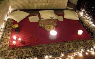 Как устроить романтический ужин дома для мужа. Романтические идеи