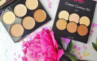 Кремовый контуринг с Cream Contour Kit от Sleek MakeUp