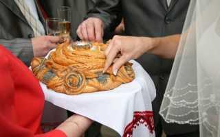 Украшение свадебного каравая в домашних условиях. Как испечь каравай
