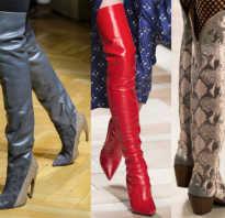 Какие сапоги сейчас в моде. Многообразие цветов и стилей