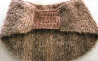 Пояс из собачьей шерсти – аптечный и сделанный своими руками