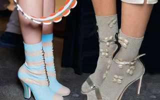 Какая обувь будет в моде. Яркая кожа, теплая весна и стильные чулочки