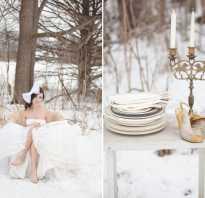 Необычная свадьба идеи зимой. Зимняя свадьба