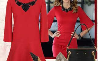 Клатч под красное платье