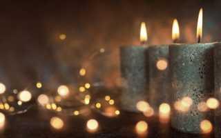 Как удалить воск от свечи