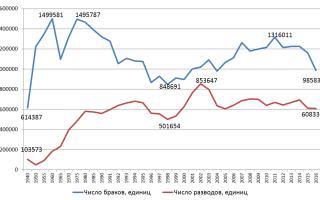 Статистики разводов в россии. Реальная статистика браков и разводов в россии