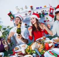 Простые конкурсы на новый год. Новогодние игры за столом