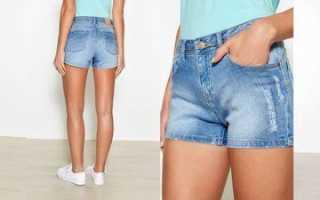 С чем носить джинсовые шорты? Как и с чем носить джинсовые шорты – фото