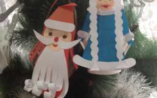 Делаем деда мороза из бумаги. Как сделать Деда Мороза из бумаги