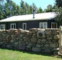 Заборные столбы из камня своими руками. Каменный забор