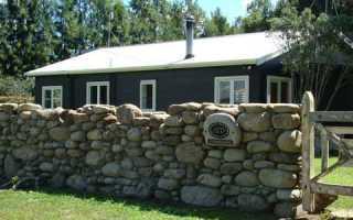 Как сделать забор из камня. Каменные заборы
