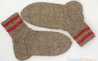 Как связать высокие носки. Учимся вязать носки: инструкция и описание