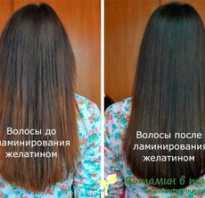 Все буде добре ламинирование волос желатином