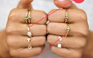 Мерка для колец. Как правильно выбрать размер кольца