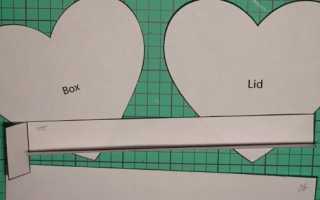 Сделать коробочку из картона своими руками. Коробка из листа бумаги А4