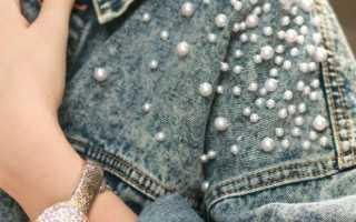 Декорирование джинсовой куртки. Модная куртка своими руками (фото)