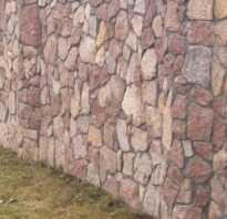 Каменный забор своими руками. Каменные заборы