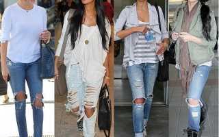 Как продрать джинсы. Как сделать рваные джинсы: пошаговая инструкция