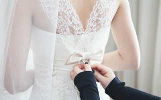 Как зашнуровать корсет на свадебном платье
