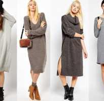 Вязаное платье по фигуре. С чем носить трикотажное платье