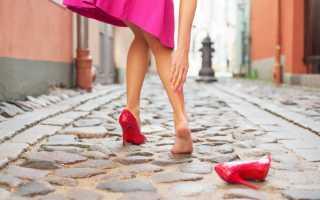 От натирания ног. Что делать если натирает новая обувь