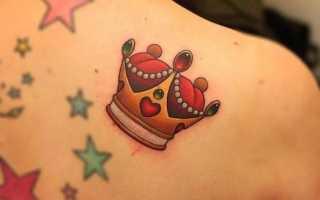 Что значит корона на руке тату. Значение татуировки корона на запястье