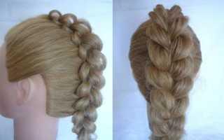 Квадратная коса. Плетение кос пошаговое фото: разновидности