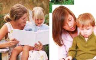 Как быстро и легко научить ребенка читать по слогам в домашних условиях