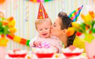 Детский день рождения 1 годик. Как организовать первый День Рождения малыша