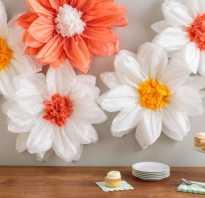 Делаем цветы из салфеток своими руками. Цветы из салфеток