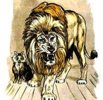 Сочинение «Лев и собачка. Лев и собачка